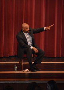 Yarmouth Education Foundation David Mills as MLK Jr.